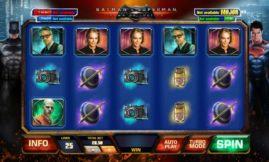 Batman v Superman Down of Justice slot screenshot big