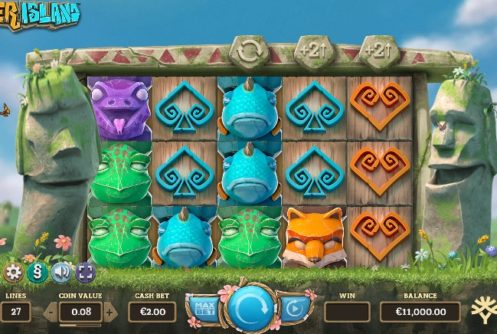 Easter Island Slot slot screenshot 250