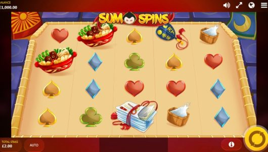 sumo spins slot screenshot big