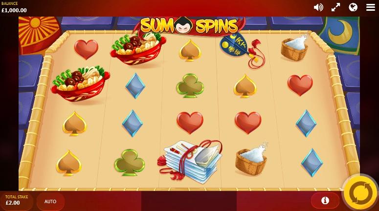 sumo spins slot screenshot big