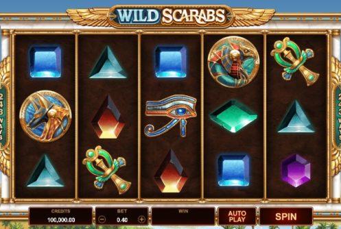 wild scrabs slot screenshot big