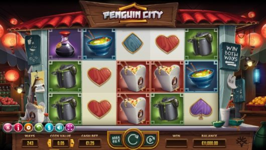 penguin city slot screenshot big