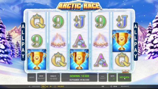 arctic-race-slot-screenshot big