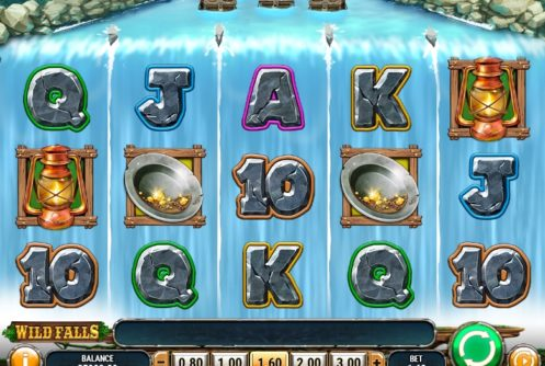 wild falls slot screenshot big
