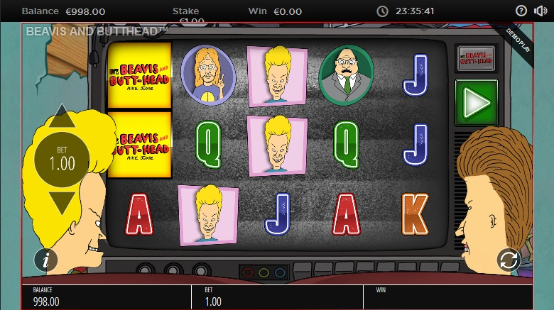 beavis-and-butt-head-slot-screenshot